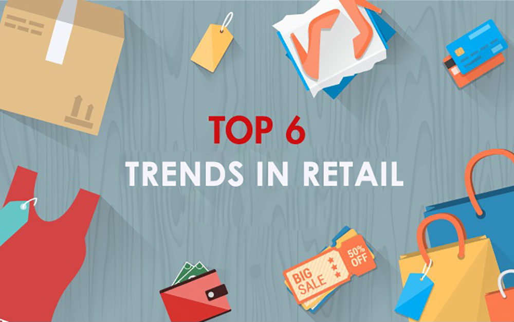 top 6 trends in retail industry