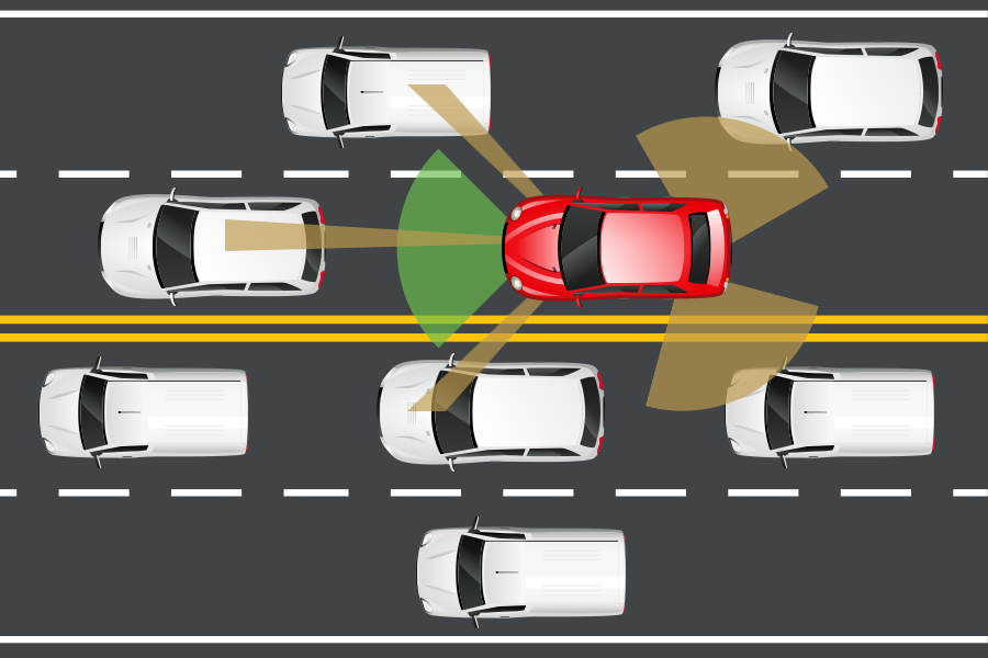 Traffic Surveillance Systems with Sensor Networks