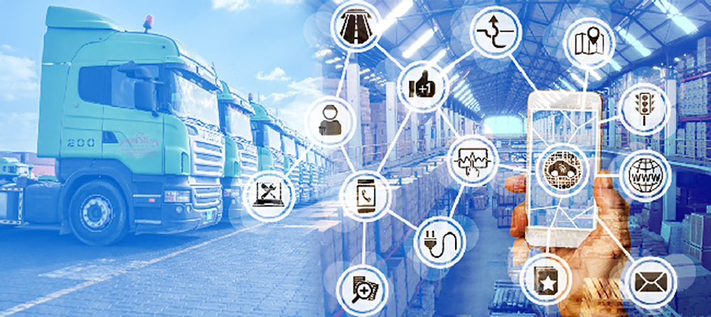 Applications Of Iot In Logistics For Fleet And Warehouse