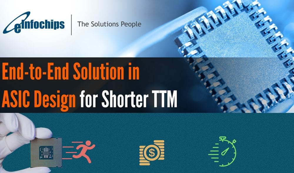 END-to-END ASIC Design Solution for Shorter TTM [Infographic]
