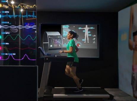 Experience Smart Fitness with Augmented Reality and Virtual Reality