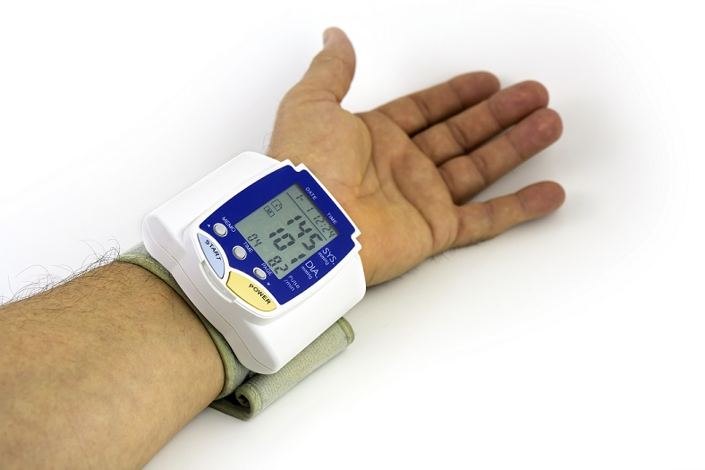 remote blood pressure monitor