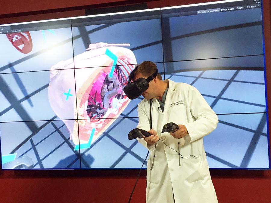 Scope of Applying AR/VR in Medical Imaging
