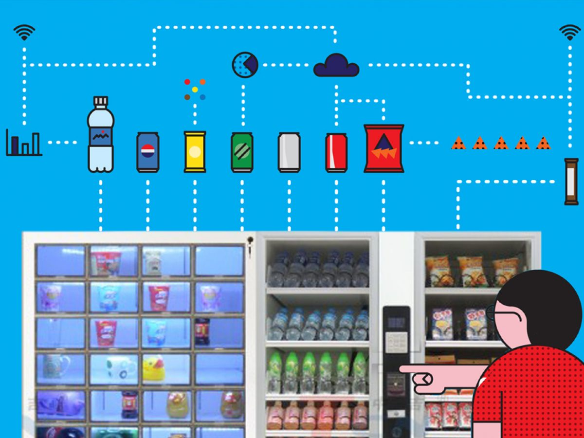 Product Design Services for Intelligent Vending Machine Systems [Video  Infographic]