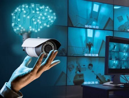 AI in security and surveillance