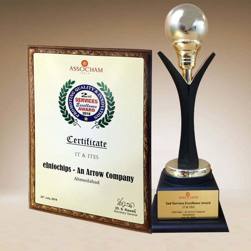 ASSOCHAM Services Excellence Award 2018 IT & ITes - Segment