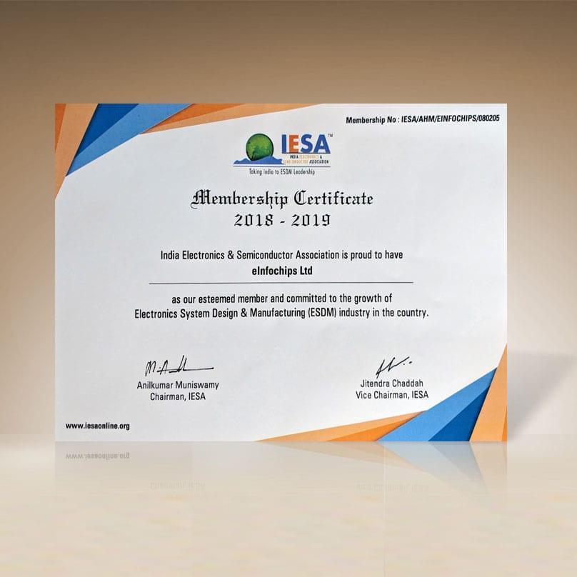India Electronics & Semiconductor Association member