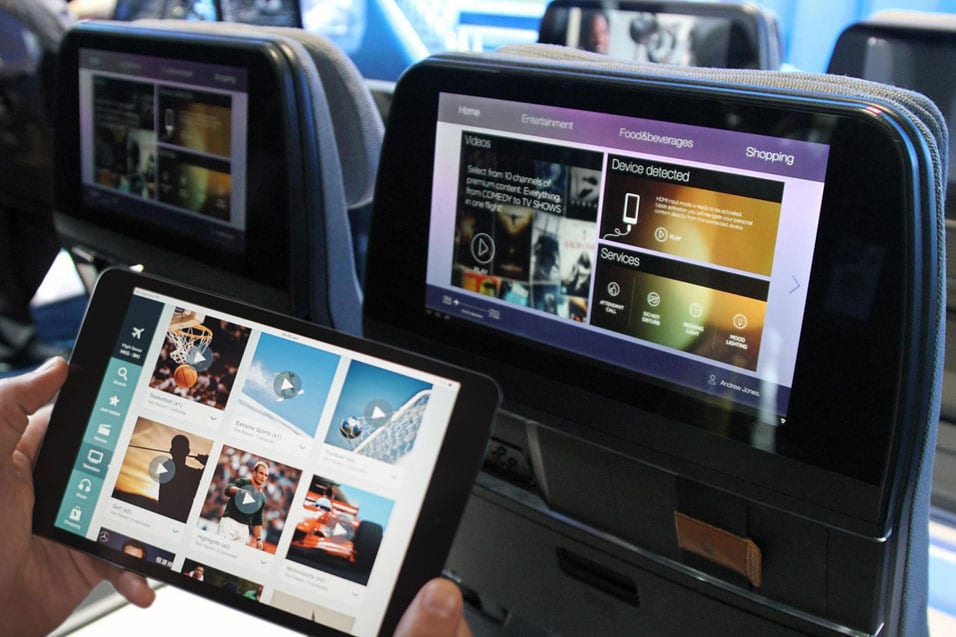 Development and Verification of a Wireless In-Flight Entertainment System
