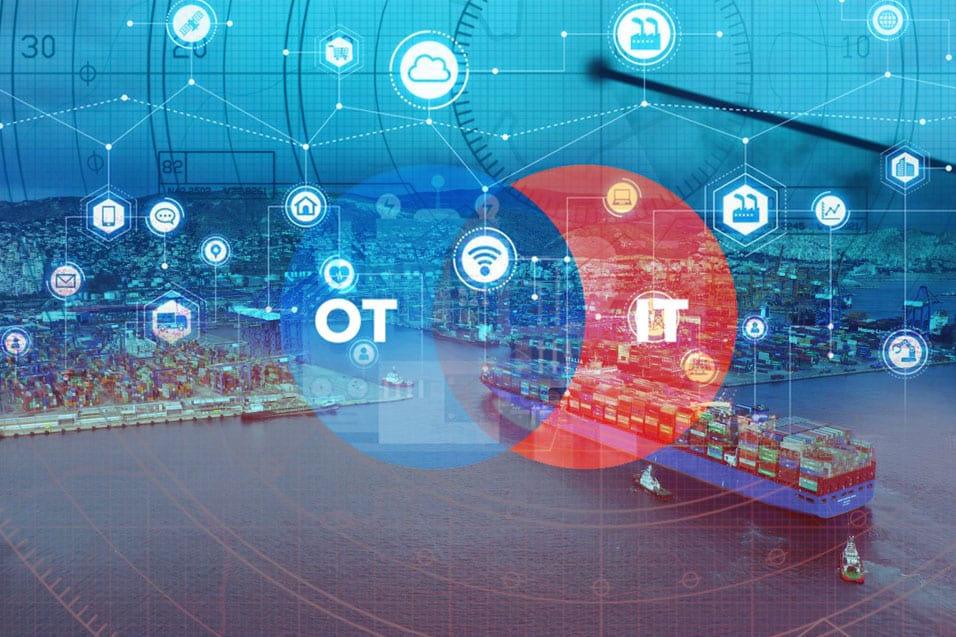 OT-IT Integration for a Shipping Fleet Operator
