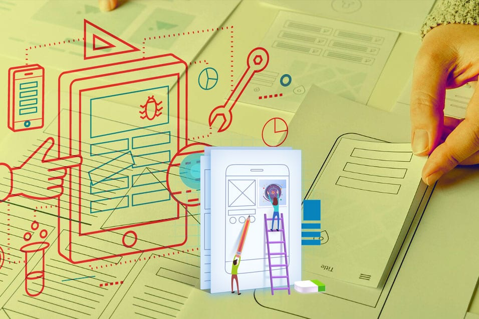 ux design and development for application in rugged environment